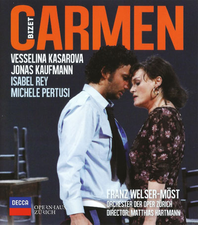 CD-Cover Georges Bizet, Carmen